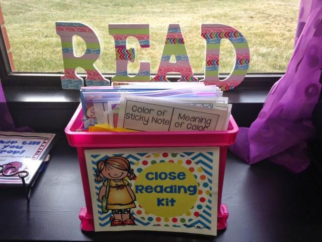 close reading materials
