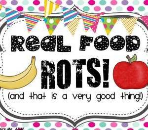 real food rots