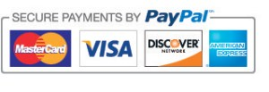 Pay securely with Paypal!