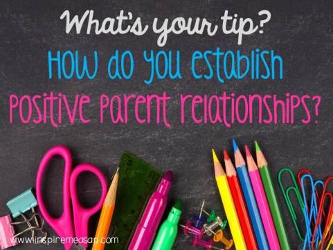 parent teacher relationships