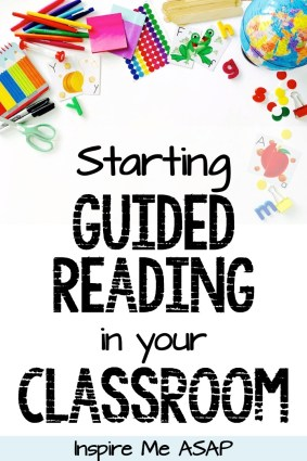 This blog post will explain six important steps to take when implementing guided reading in your classroom at the start of a new school year.