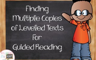 Finding Leveled Texts for Guided Reading