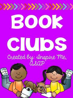 book clubs. Inspire Me ASAP