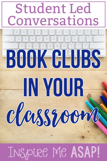 A must-read for teachers who are looking to implement book clubs into their classroom! This blog post identifies characteristics of student-led conversations during book clubs and gives specific examples of what it looks like in a third grade classroom. Click here to read more or pin to save for later.