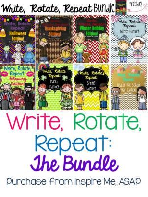 Write, rotate, repeat bundle