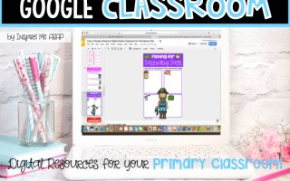 Google Classroom Digital Graphic Organizers