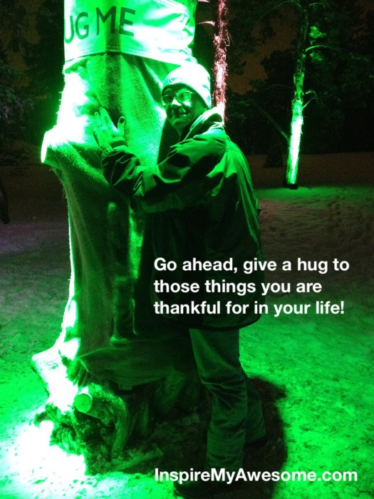 Go ahead, give a hug...