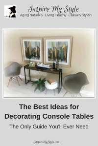 Best Ideas for Decorating Console Tables in Your Home