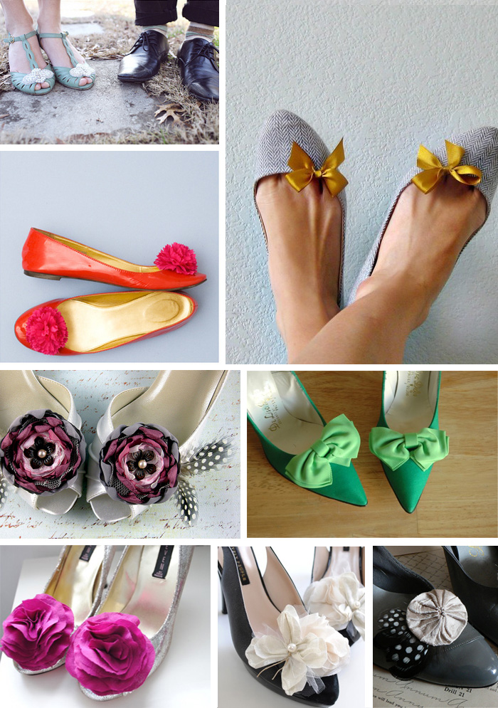 DIY Oh The Power Of Shoe Clips Inspire My Wedding