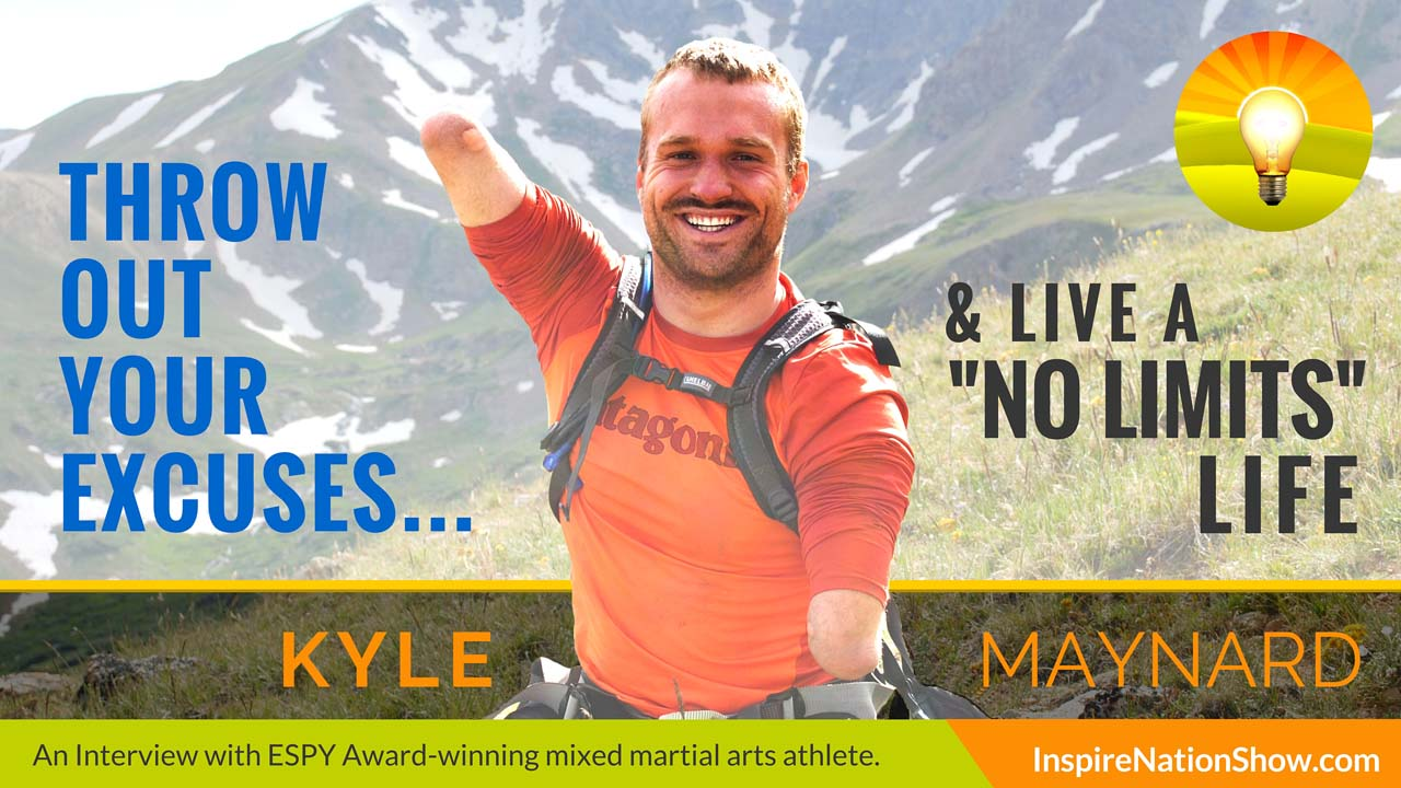 Listen to Michael Sandler's interview w/Kyle Maynard at http://www.InspireNationShow.com