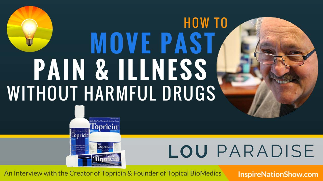 Listen to Michael Sandler's interview w/Lou Paradise at http://www.InspireNationShow.com