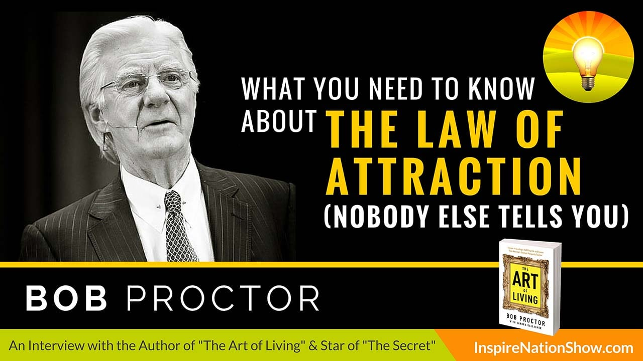 Listen to Michael Sandler's interview w/Bob Proctor at http://www.InspireNationShow.com