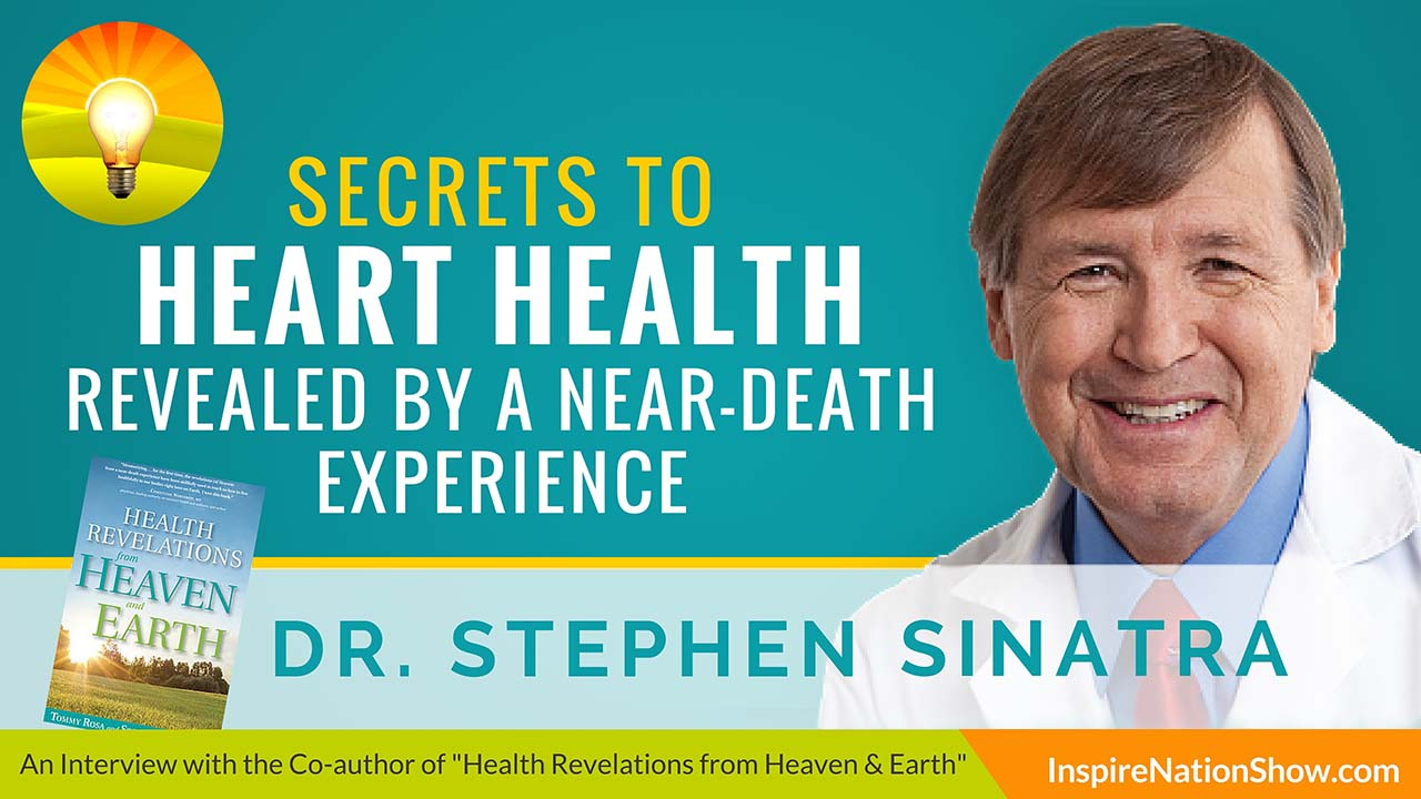 Listen to Michael Sandler's interview with Dr. Stephen Sinatra at http://www.InspireNationShow.com