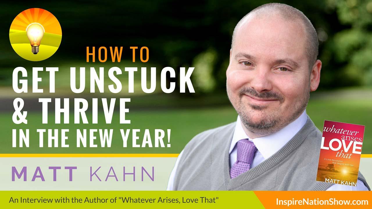 Listen to Michael Sandler's interview w/Matt Kahn at http://www.InspireNationShow.com