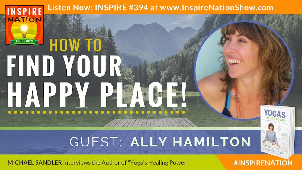 Listen to Michael Sandler interviewing Ally Hamilton on Yoga's Healing Power!