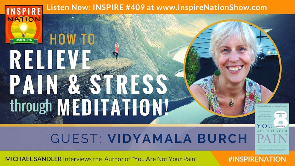 Listen to Michael Sandler's interview with Vidyamala Burch on You Are Not Your Pain!