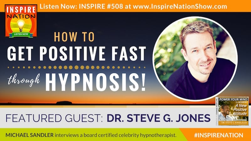 Michael Sandler interview Dr Steve Jones on using hypnosis to reprogram your subconscious mind.