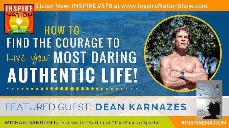 Michael Sandler interviews ultramarathon runner, Dean Karnazes on his latest book, The Road to Sparta!