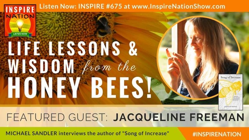 Michael Sandler interviews Jacqueline Freeman on the wisdom of honey bees!
