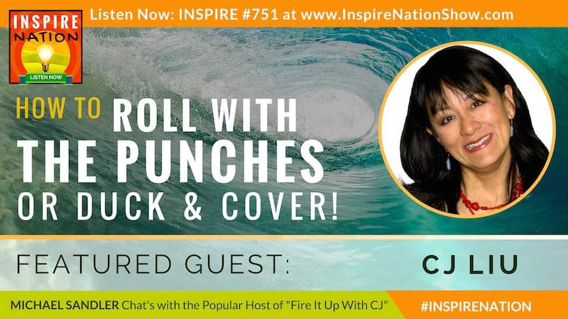Michael Sandler and CJ Liu chat about how to roll with the punches or duck and cover during the holidays!