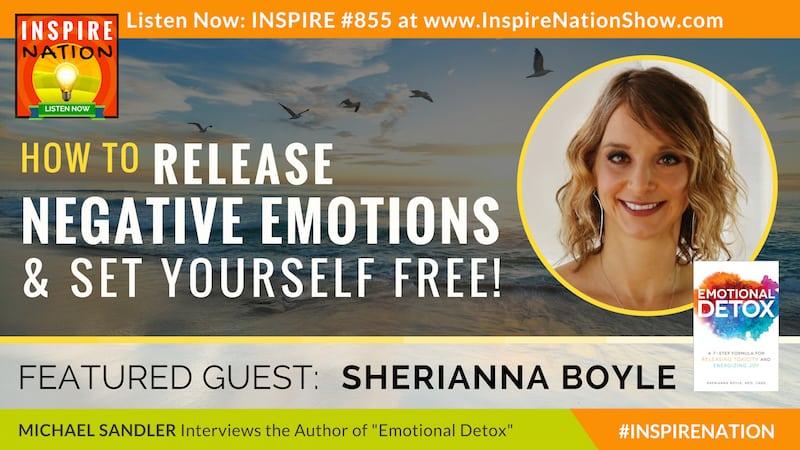 Michael Sandler interviews Sherianna Boyle on Detoxing Toxic Emotions!