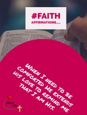 faith affirmations I am His