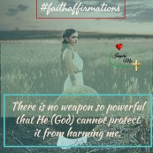 faith affirmations protected