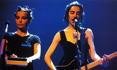 PJ Harvey and Bjork Brit Awards