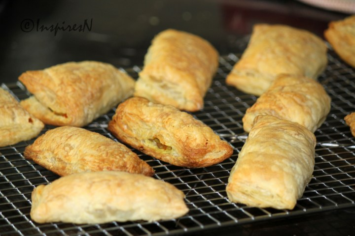 Indian Vegetable Puffs