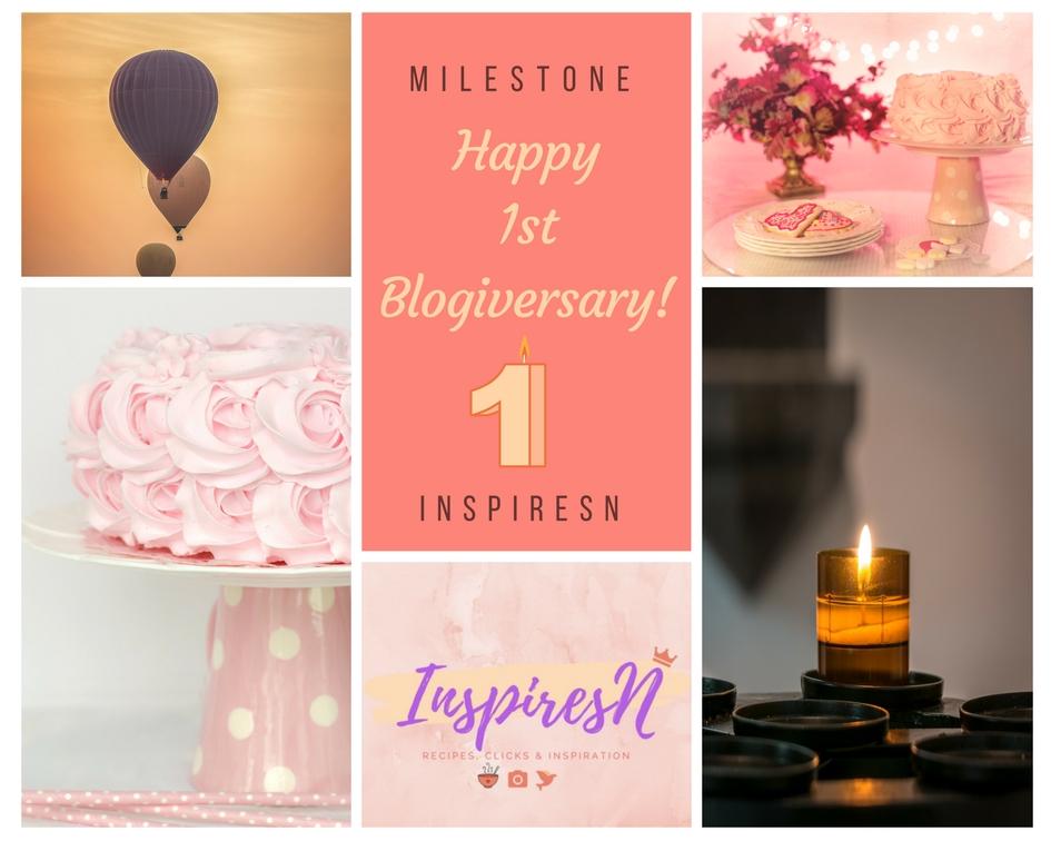 Happy 1st Blogiversary InspiresN!