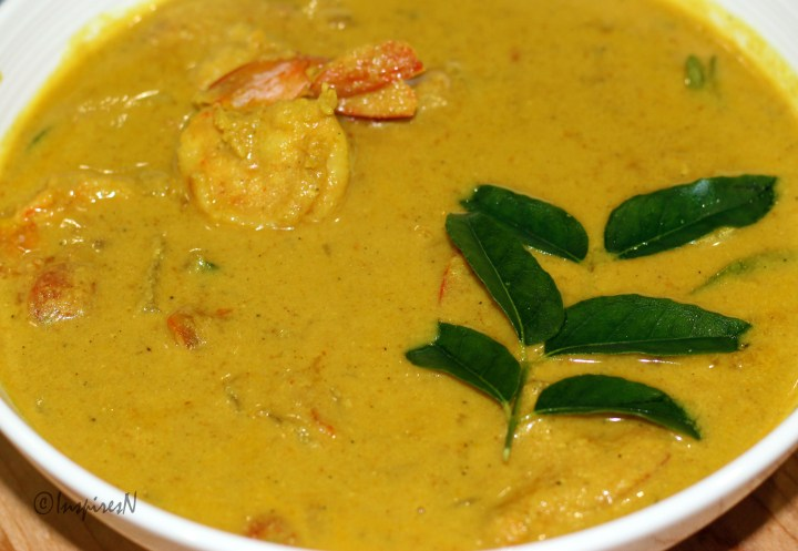 Goan Style Shrimp Curry
