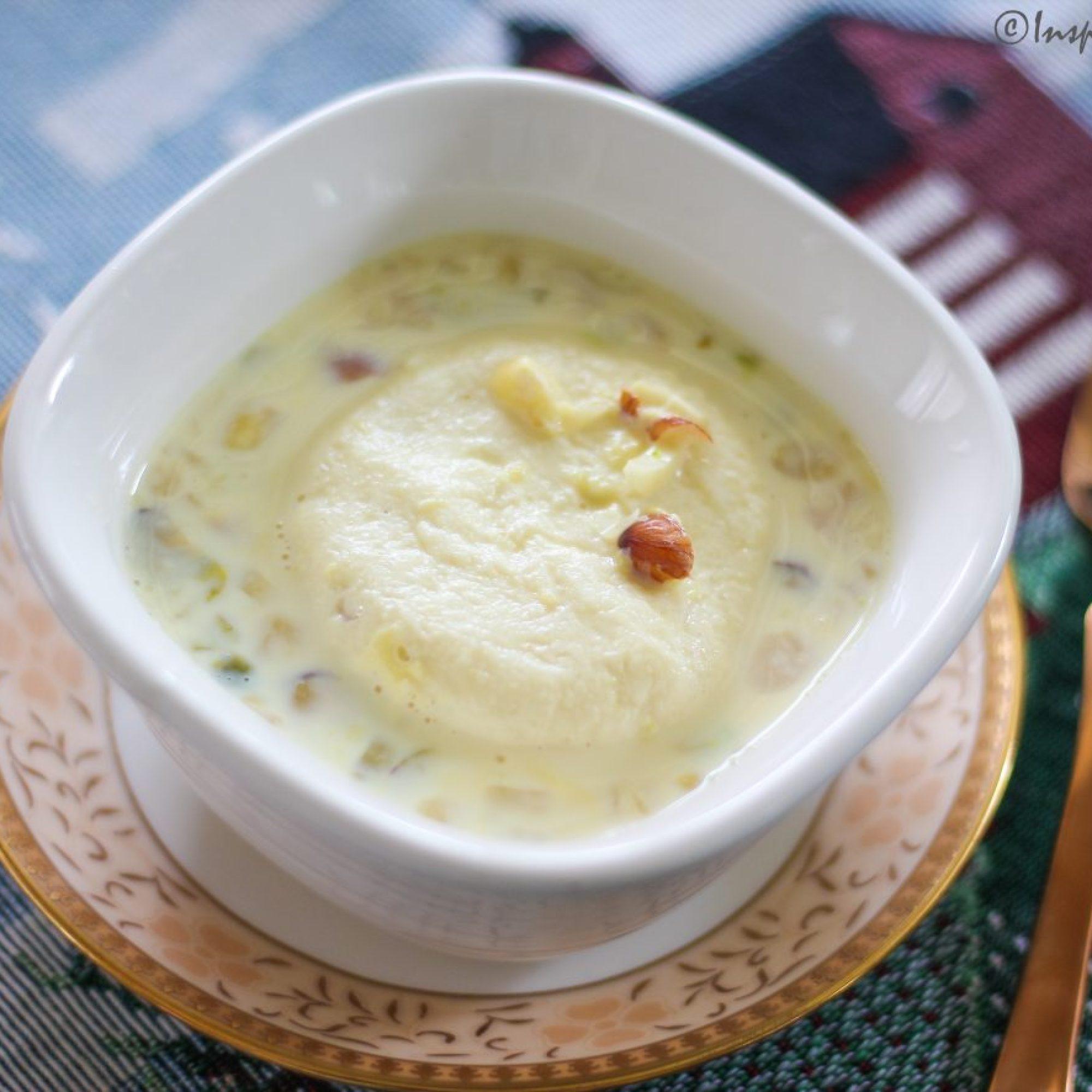 Rasmalai - Cottage cheese in flavored milk