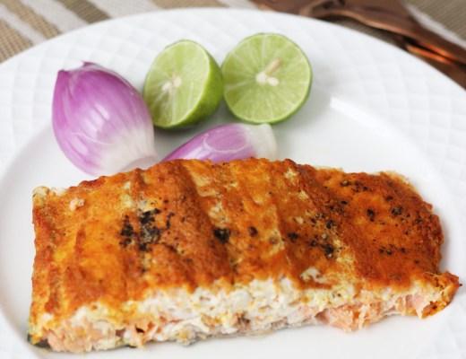 Indian baked salmon recipe