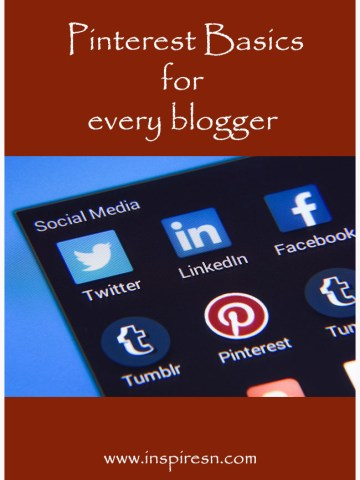 Pinterest basics for every blogger