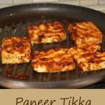 Paneer Tikka Pan grilled