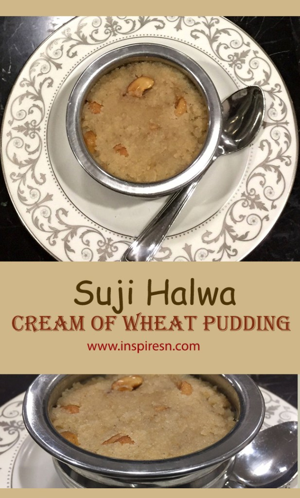 Suji Halwa cream of wheat pudding