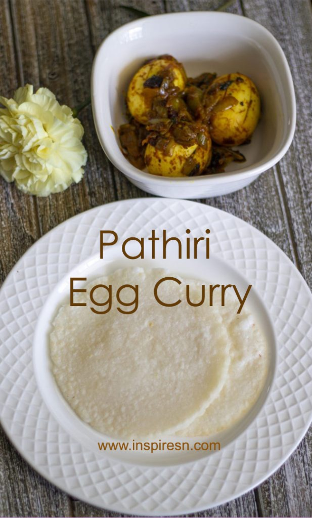 Pathiri and Egg Curry