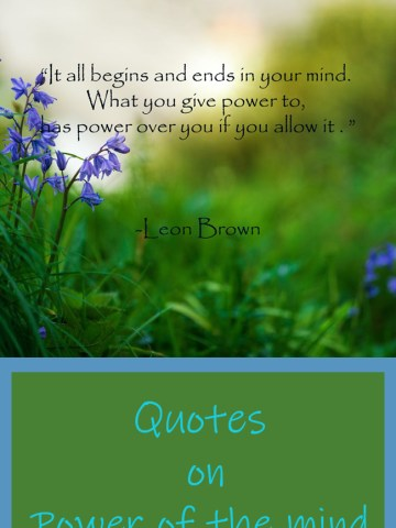 Quotes on Power of the mind