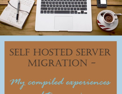 Self hosted server migration experience and tips