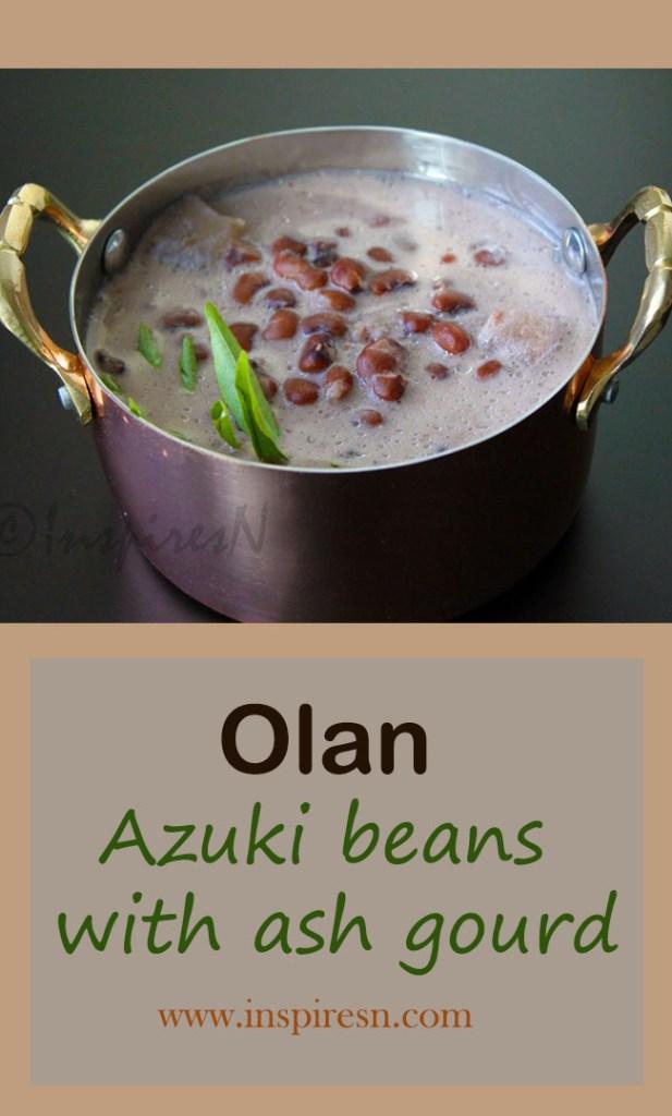 Olan Azuki beans with ash gourd
