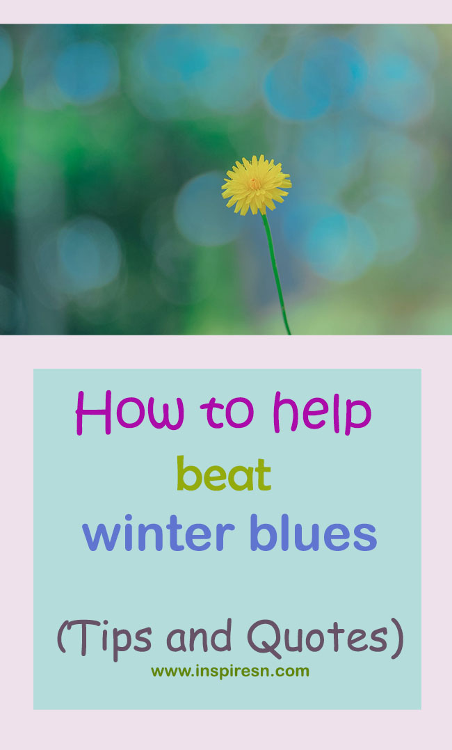 how to help winter blues
