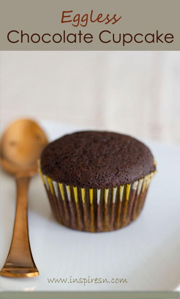 Best Eggless Chocolate Cupcakes