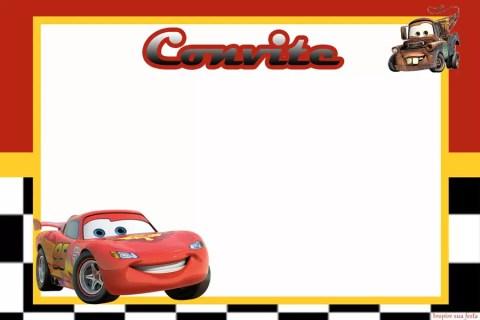 Carros Disney – Kit festa infantil grátis para imprimir