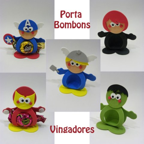 Porta bombom – Vingadores