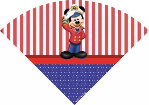 Capitão Mickey – Kit festa grátis para imprimir