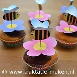 Como fazer Topper de Cupcake Jardim Encantado