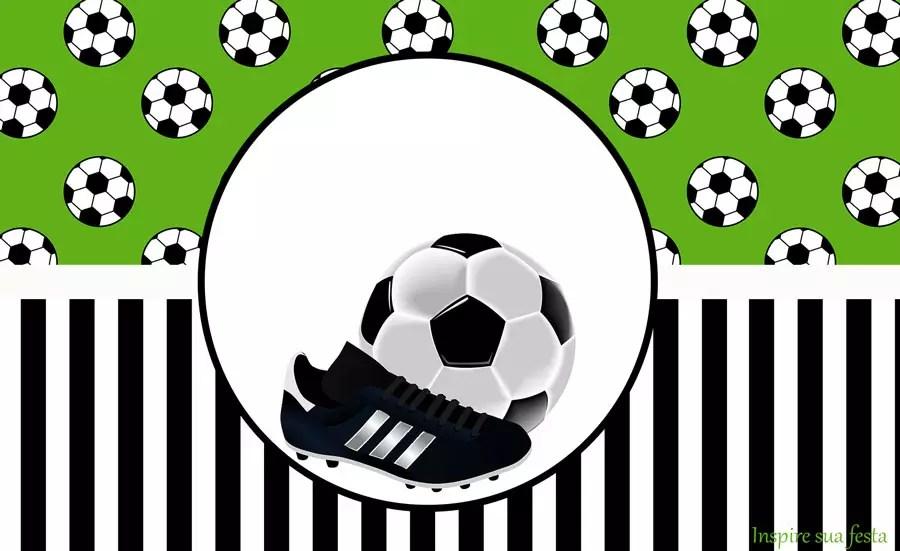 Futebol – Kit festa grátis para imprimir