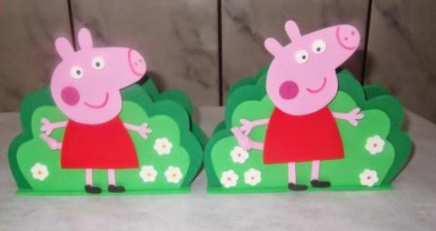 Como fazer Porta guardanapo Peppa Pig