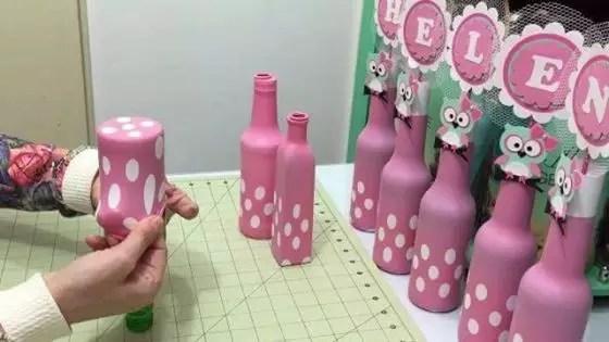 15 Centros Para Con Mesa De Botellas Anos Vino De