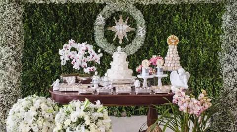 Perylampo Festas lança primeira decoração de batizado
